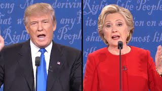 Trump vs. Clinton | First 2016 Presidential Debate (Complete HD)