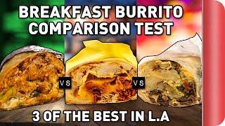 Taste Testing 3 of LA's Best BREAKFAST BURRITO'S Ft. React