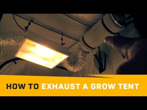 Grow Tent – Passive Outtake Air Vs. Aggressive Air Flow | How To Exhaust Grow Tent Veting Grow Box