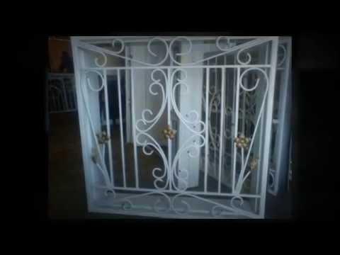 Cerramientos enrejados puertas ventanas rejas enemar - Rejas para puertas ...