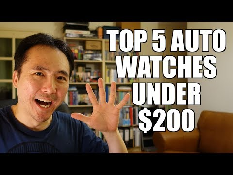 Top 5 Automatic Watches Under $200 - Perth WAtch #194