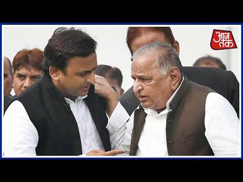 Samajwadi Party's Cycle Claimants Mulayam, Akhilesh Heard By Election Commission, Order Reserved