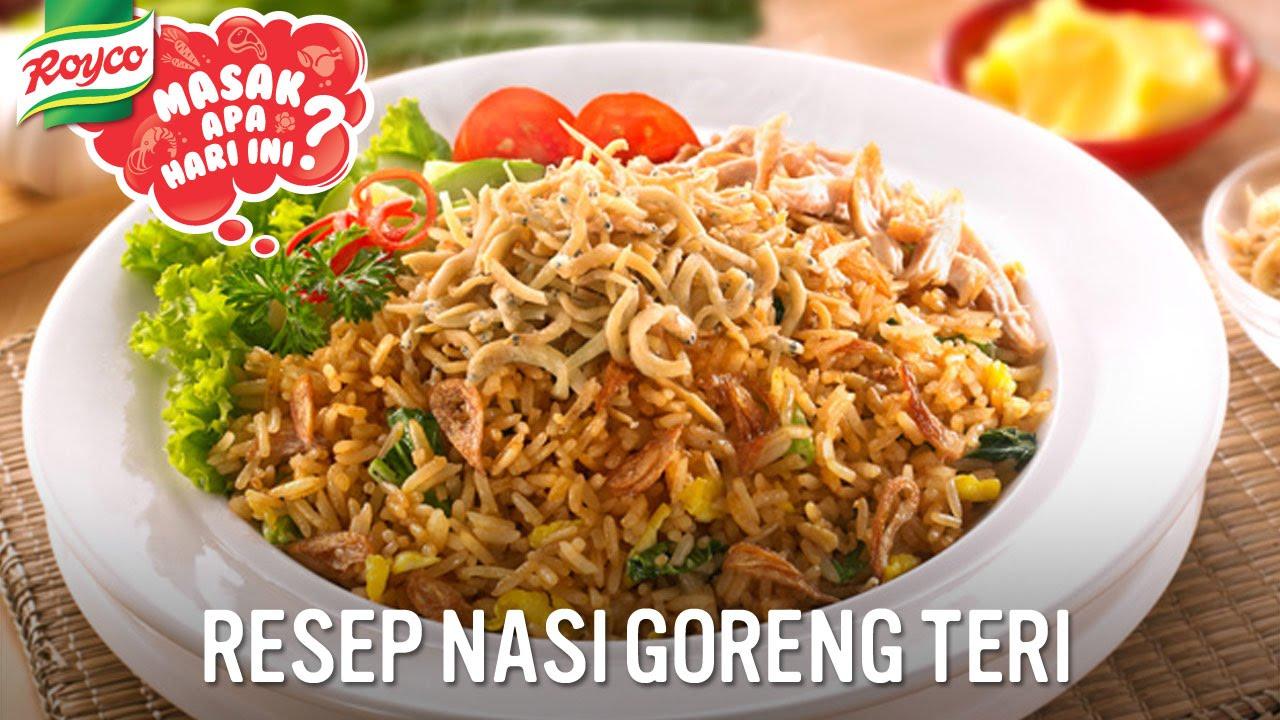 Resep Royco - Nasi Goreng Teri