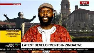 Latest developments in Zimbabwe