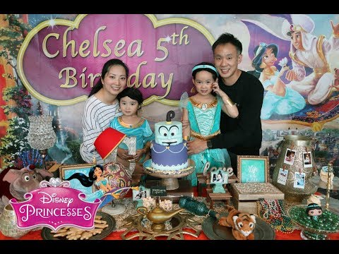 Diy Disney Princess Jasmine Aladdin Themed Birthday