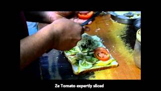 vuclip Awesome Cheese Vegetable Grill Sandwich at Mahalaxmi Race Course, Mumbai