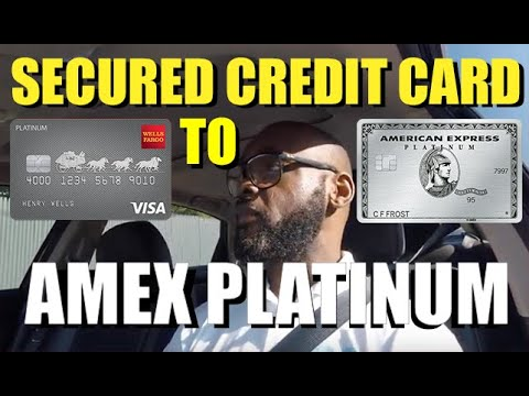 Secured Credit Card To An Amex Platinum Card