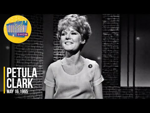 """Petula Clark """"I Know A Place,"""" & """"Downtown"""" on The Ed Sullivan Show"""