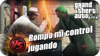 GTA V ONLINE ROMPO MI CONTROL JUGANDO CON EPSILONGAMEX BY SHOLO GAMER23#27