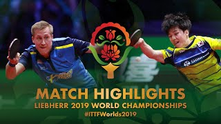 Mattias Falck vs An Jaehyun | Semi-final | WTTC-2019