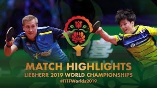 Mattias Falck vs An Jaehyun | Semi-final | WTTC-2019