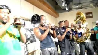 Hypnotic Brass Ensemble 2009.10.13 @The North Face (HARAJUKU, TOKYO...
