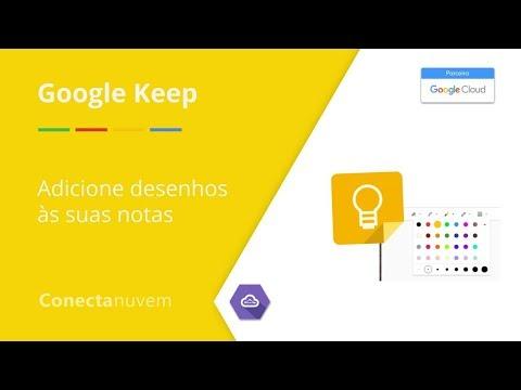 Como adicionar desenhos às notas - Google Keep