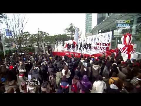 251210  MBC Music Core Christmas Special - Super Junior - Bonamana.avi