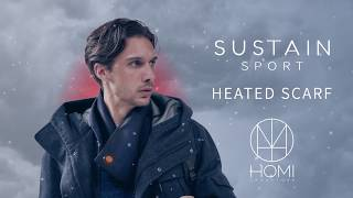 SUSTAIN SPORT Heated Scarf -- The warmest Scarf in the world