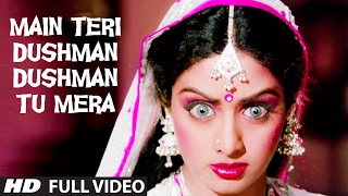 main teri dushman dushman tu mera full video song nagina rishi kapoor sridevi