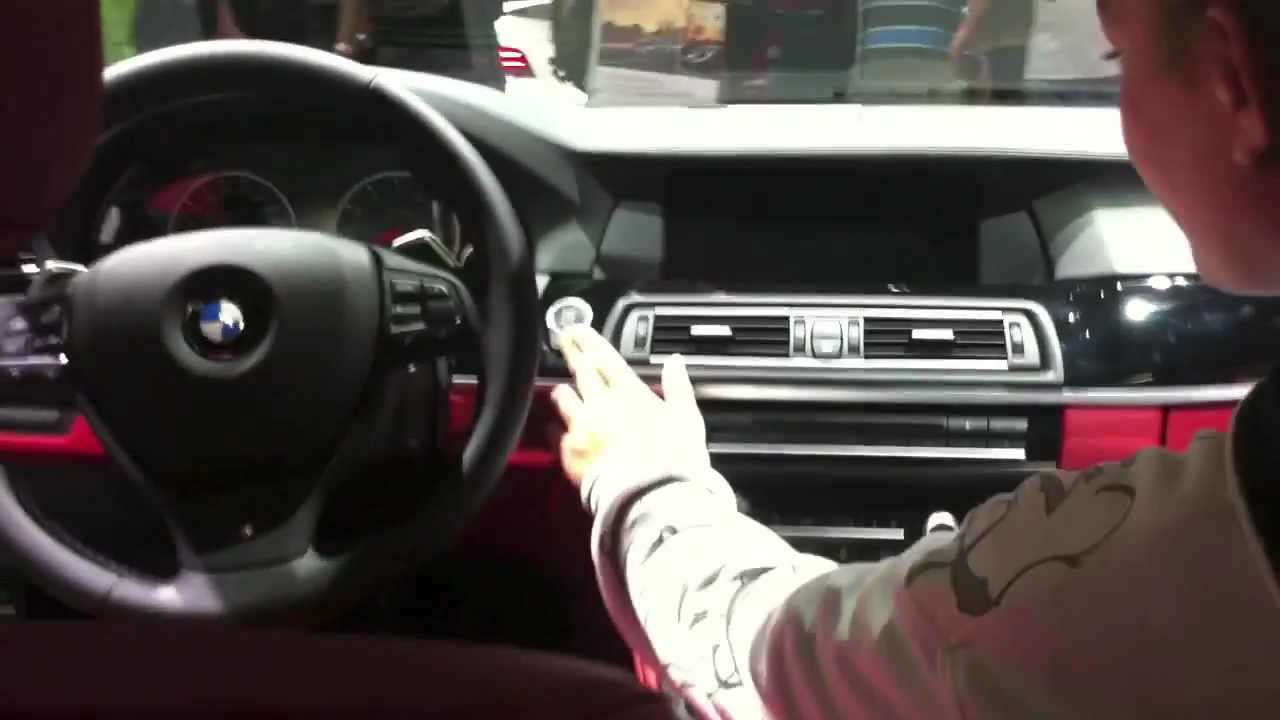 Bmw M5 F10 Alpine White Red Interior Youtube