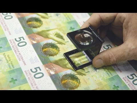 The new banknotes – production and circulation