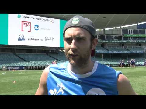 Matt Lewis Interview - Kids Xpress Touch of Colour Charity Day