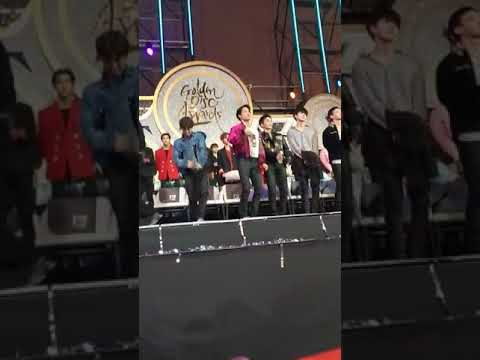 Exo reaction to BTS