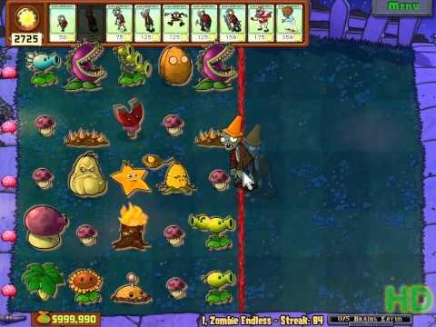 Plants vs Zombies - I,Zombie Endless Streak 81 - 90