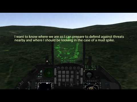 Falcon 4 BMS Tutorials: Be A Good Wingman