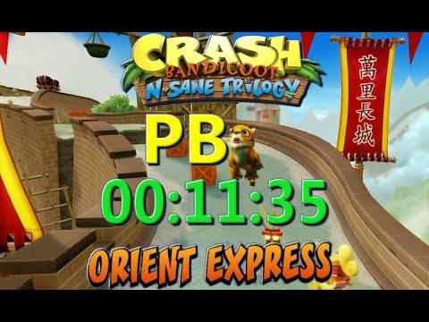 Orient Express PB 00:11:35 - Crash Bandicoot N Sane Trilogy