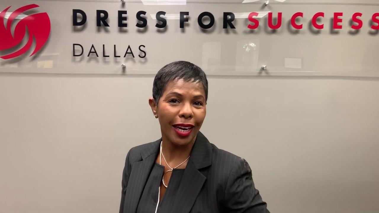 Dr. Lauren Freeman of Dress for Success Dallas