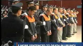 Five more sentenced to death for Urumqi riots - CCTV 091203