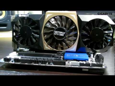 Gigabyte Z77X-UD5H WB WiFi Video Review by Rephael Catap