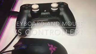 Controller Vs Mouse And Keyboard Fortnite & Pubg | Xbox/ps4 Console Vs Pc