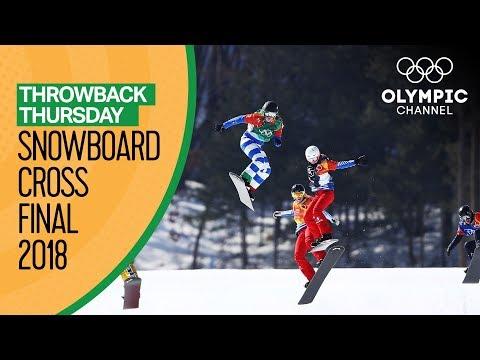 Download Snowboard cross Finals Pyeongchang 2018 ft. Michela Moioli | Throwback Thursday