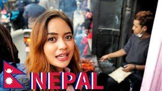 NEPALI Hideout STREET FOOD Tour in KATHMANDU, Nepal [Ep. 15] 🇳🇵