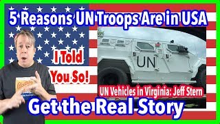UN Troops Are in Chicago, Virginia, and Maryland Five Reasons Why