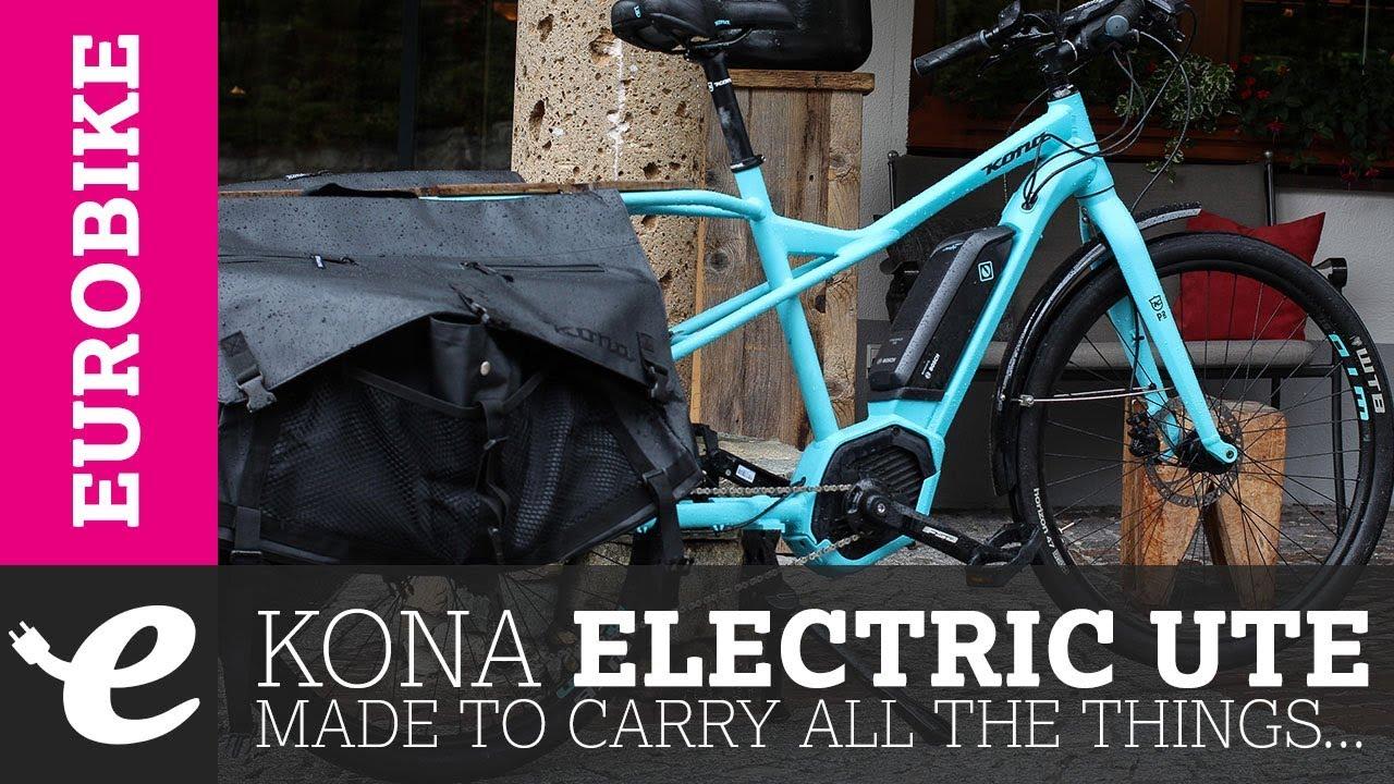 The New Kona Electric Ute