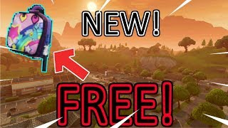 FREE BACK BLING in FORTNITE! | Battle Royale