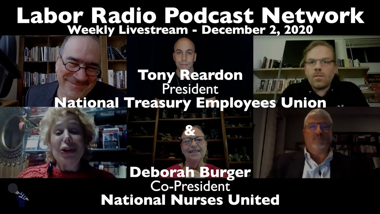 National Nurses United Deborah Burger & National Treasury Employees Union Tony Reardon