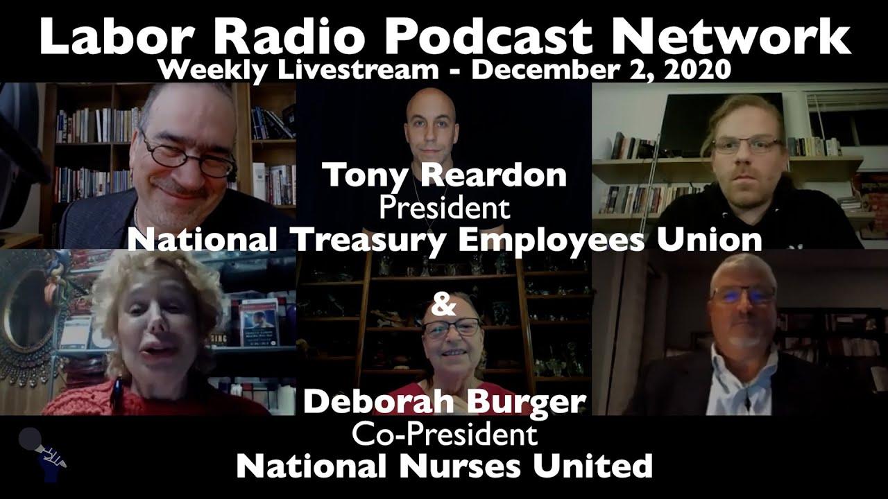 National Nurses United Deborah Burger & National Treasury Employees Union Tony Reardon