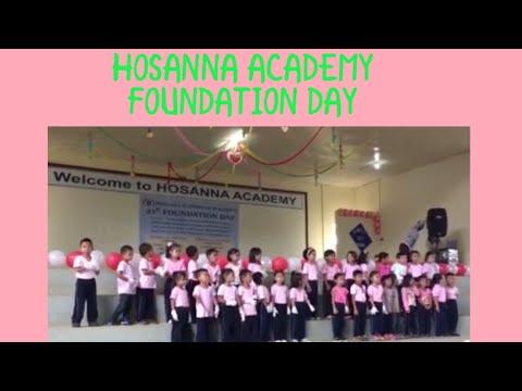 HOSANNA ACADEMY FOUNDATION DAY: Preschooler Presentation (Thea & Ekay)