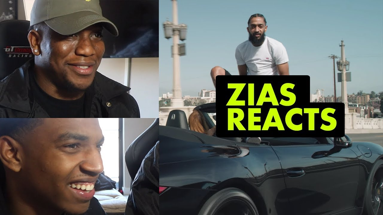 ZIAS! Reacts | Nipsey Hussle - Hussle and Motivate (Music Video)