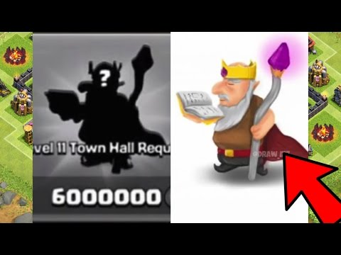 Clash Of Clans   NEW HERO POSSIBILITY!!! New Town Hall 11 Update 2015!