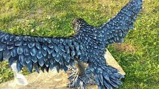 «Челябинские поделки». Скульптуры из листового металла.
