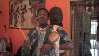 kalangou TALKING DRUM HAUSSA NIGER AND NIGERIA
