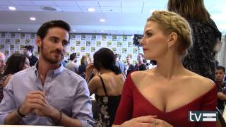 Colin O'Donoghue & Jennifer Morrison Interview - Once Upon a Time Season 4