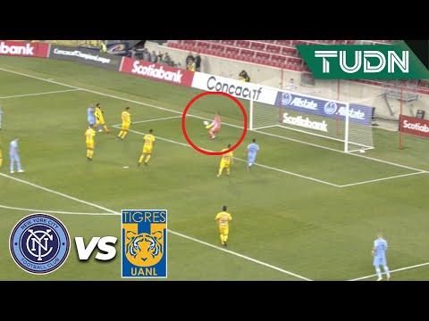 ¡Nahuel ahoga el grito de gol! | New York City 0 - 0 Tigres | CONCACAF Champions - 4tos Ida | TUDN