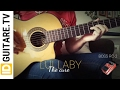 Lullaby - The cure - Acoustic guitar cover + chords - Guitare acoustique avec accords