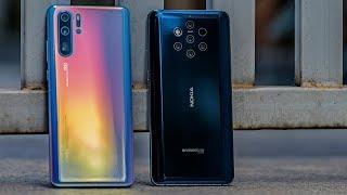 Huawei P30 Pro vs Nokia 9 Pureview Camera Comparison - 5 Cameras vs 4 Cameras!