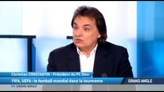 Christian Constantin, président du FC Sion :
