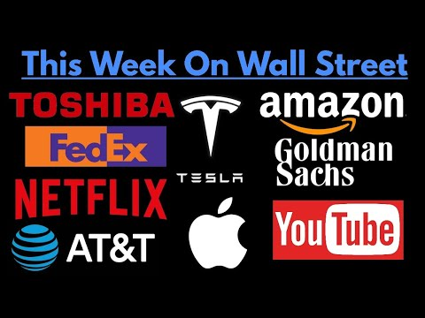 This Week On Wall Street (May 13, 2018 To May 20, 2018)