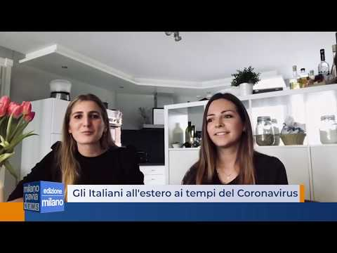 Gli Italiani all'estero ai tempi del Coronavirus